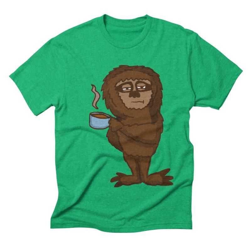 Groggy Sloth  Men's Triblend T-shirt by ericallen's Artist Shop