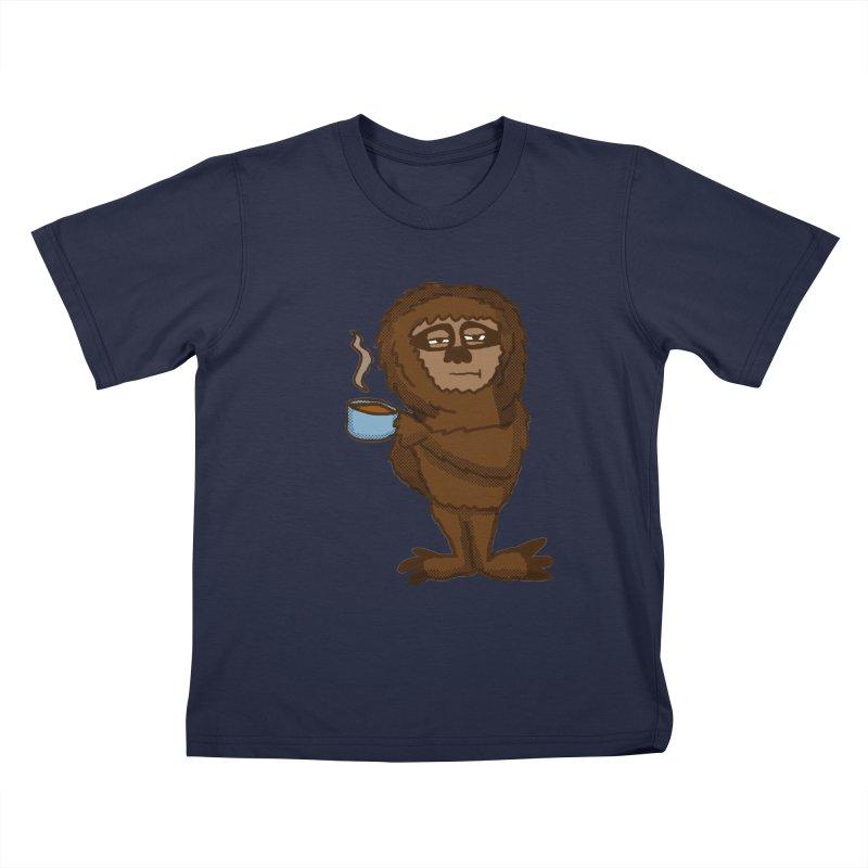 Groggy Sloth  Kids T-shirt by ericallen's Artist Shop
