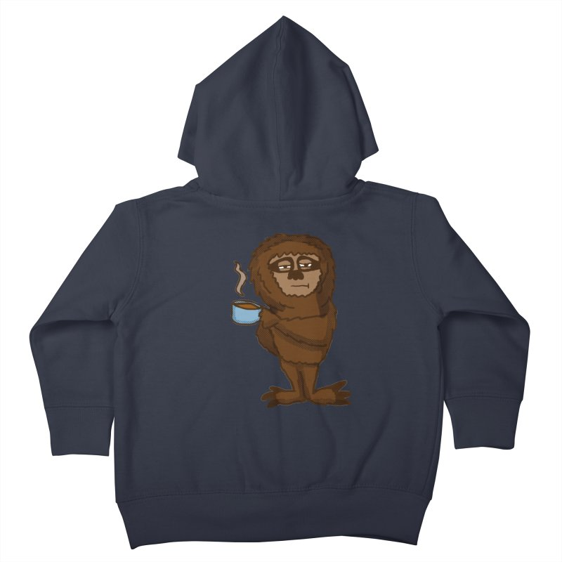 Groggy Sloth  Kids Toddler Zip-Up Hoody by ericallen's Artist Shop
