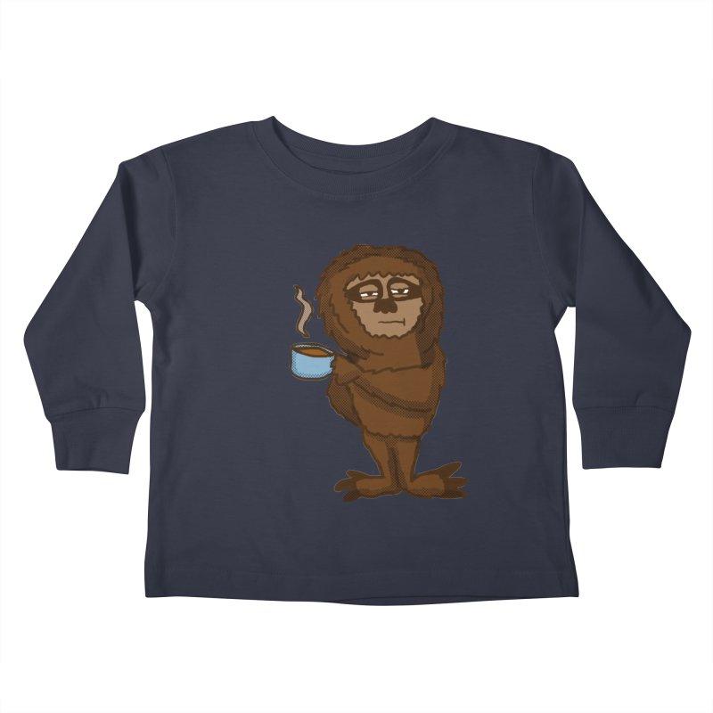 Groggy Sloth  Kids Toddler Longsleeve T-Shirt by ericallen's Artist Shop