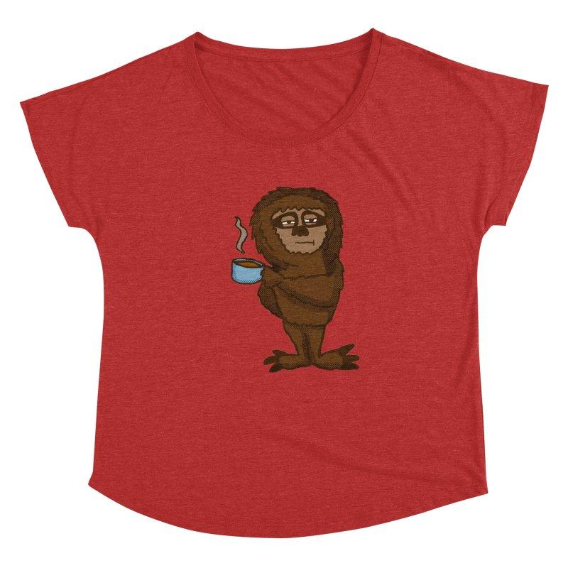 Groggy Sloth  Women's Dolman by ericallen's Artist Shop