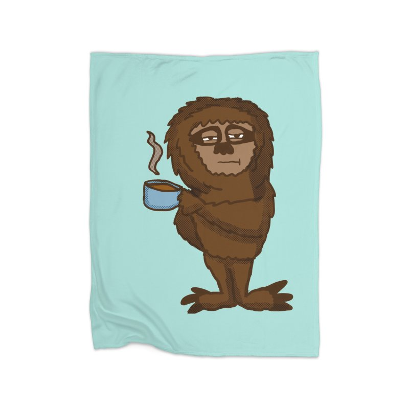 Groggy Sloth  Home Blanket by ericallen's Artist Shop