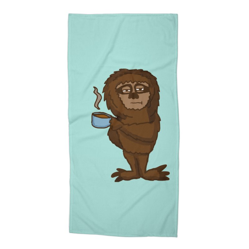 Groggy Sloth  Accessories Beach Towel by ericallen's Artist Shop