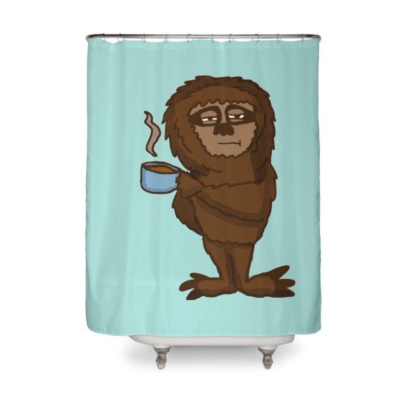 Groggy Sloth  Home Shower Curtain by ericallen's Artist Shop