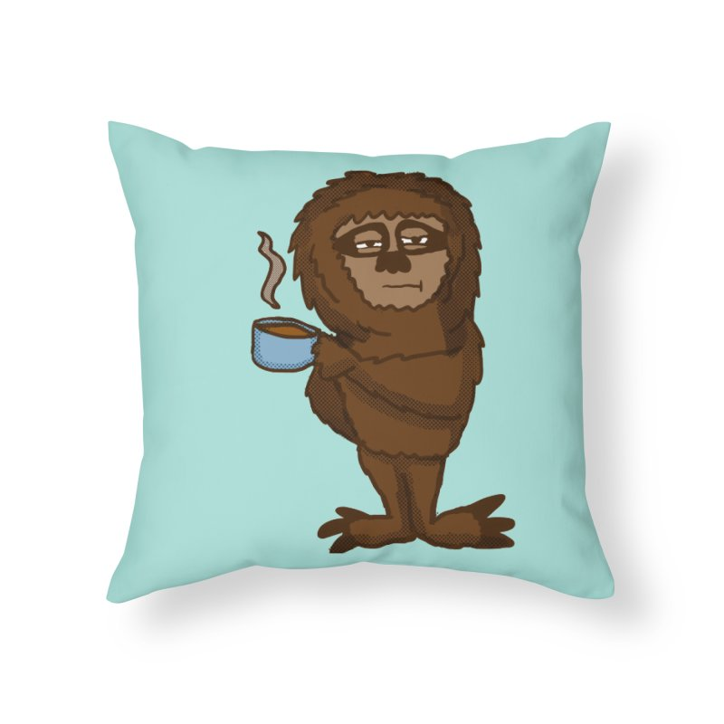 Groggy Sloth  Home Throw Pillow by ericallen's Artist Shop