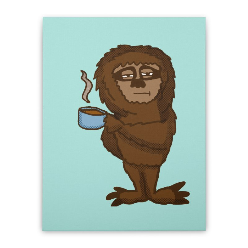 Groggy Sloth  Home Stretched Canvas by ericallen's Artist Shop
