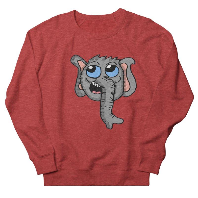 Cute Elephant Head  Women's Sweatshirt by ericallen's Artist Shop