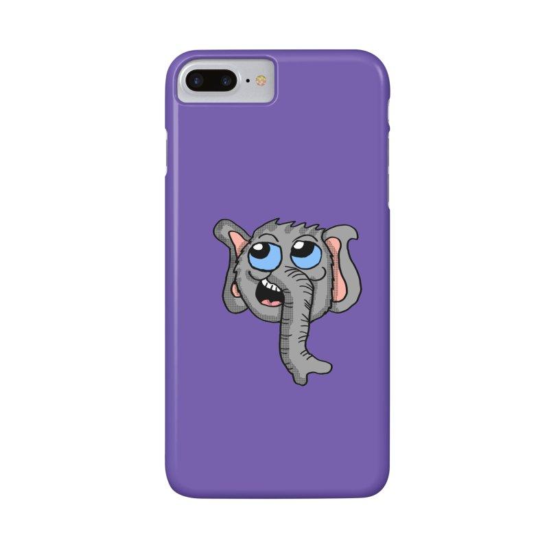 Cute Elephant Head  Accessories Phone Case by ericallen's Artist Shop