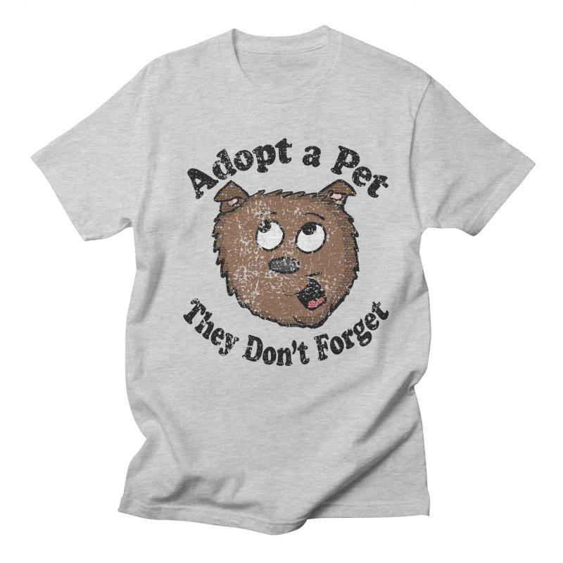 Vintage Adopt A Pet  Women's Unisex T-Shirt by ericallen's Artist Shop