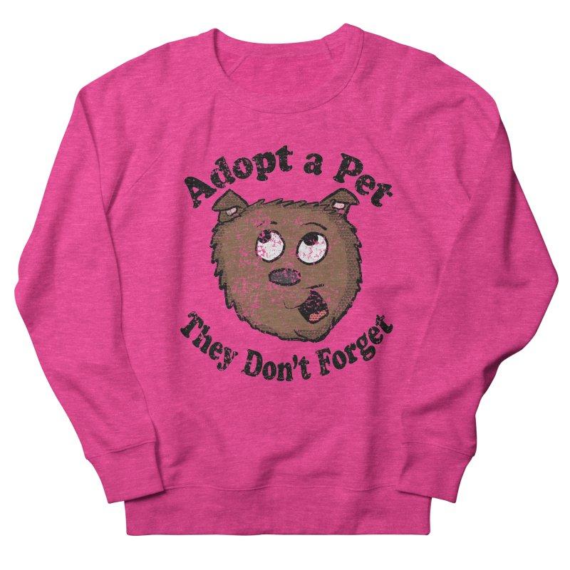 Vintage Adopt A Pet  Women's Sweatshirt by ericallen's Artist Shop