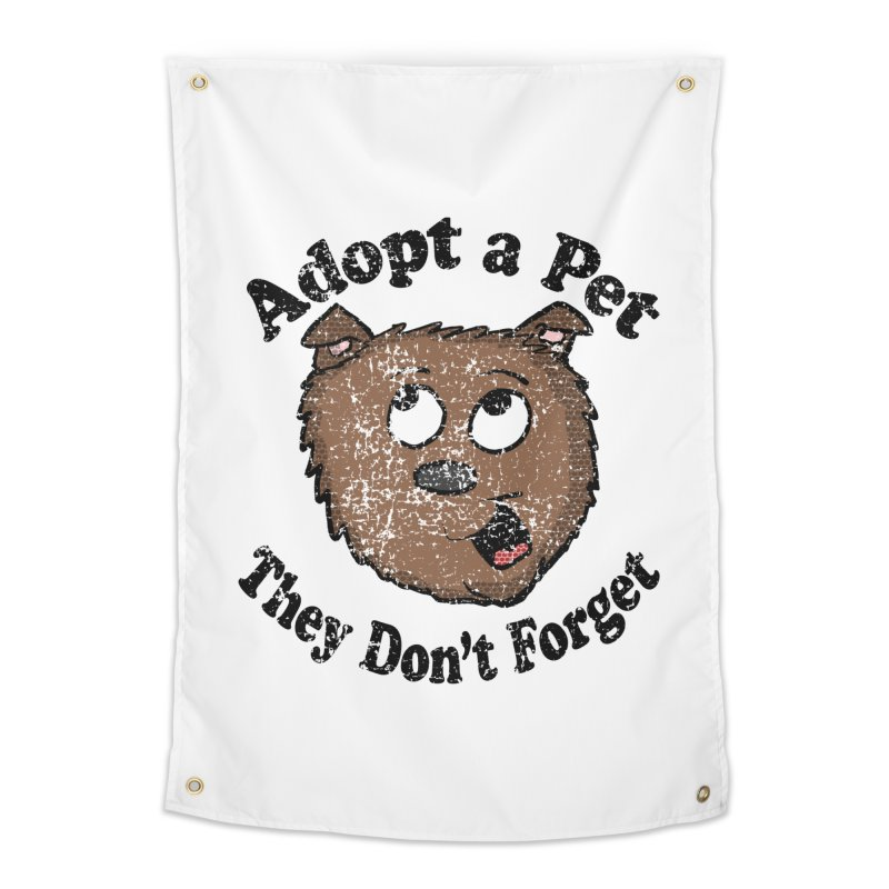 Vintage Adopt A Pet  Home Tapestry by ericallen's Artist Shop
