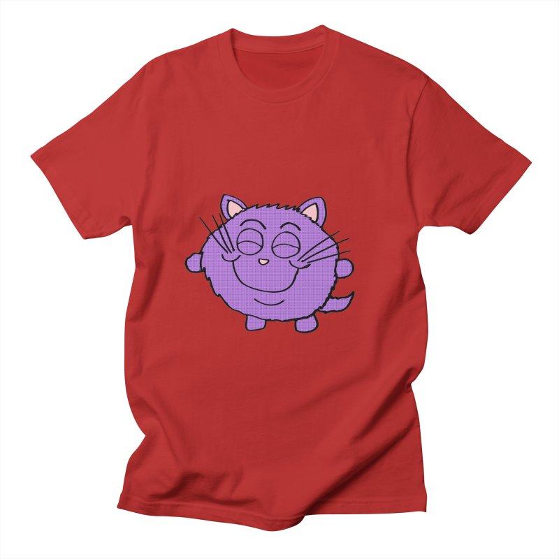 Chibi Happy Cat  Women's Unisex T-Shirt by ericallen's Artist Shop