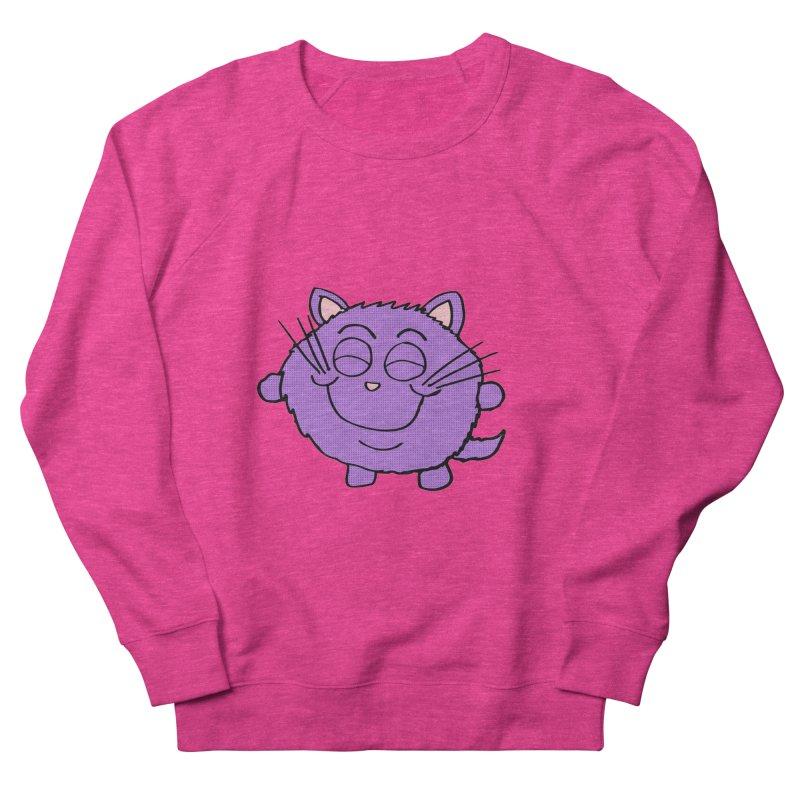 Chibi Happy Cat  Women's Sweatshirt by ericallen's Artist Shop