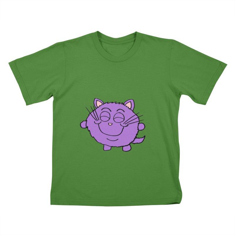 Chibi Happy Cat  Kids T-shirt by ericallen's Artist Shop