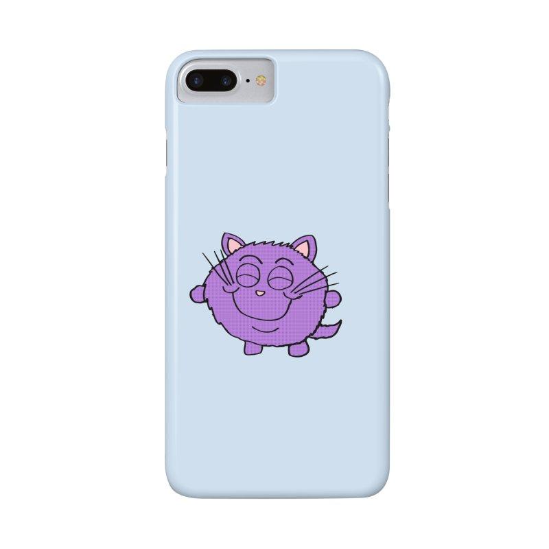 Chibi Happy Cat  Accessories Phone Case by ericallen's Artist Shop