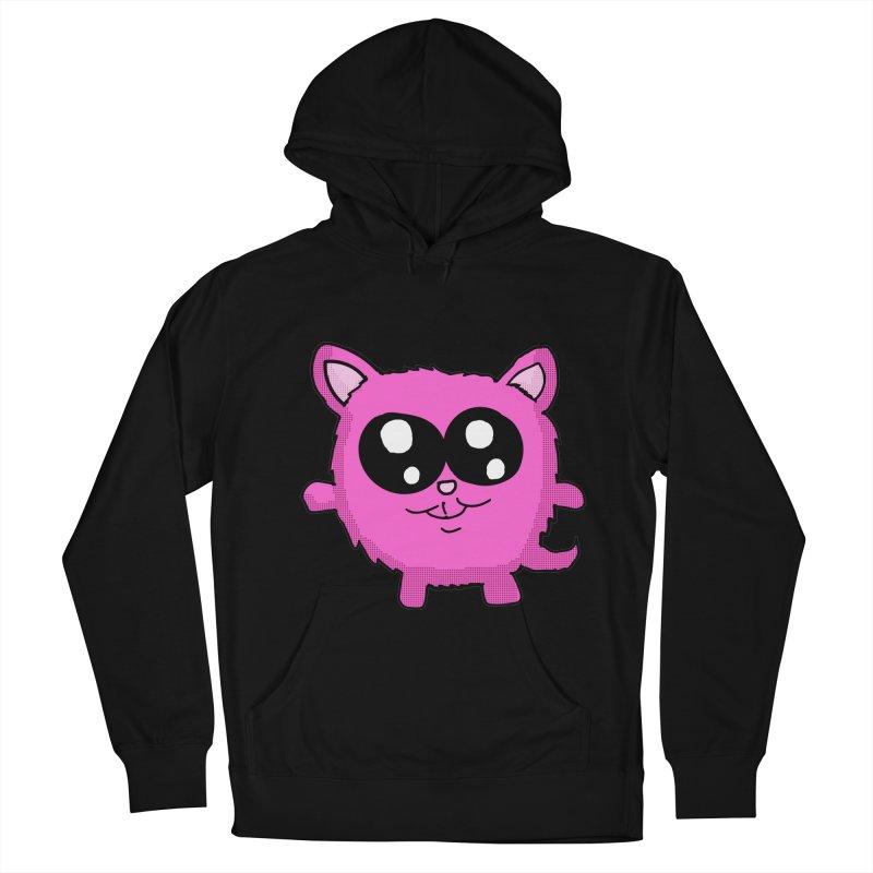 Kawaii Pink Kitty Women's Pullover Hoody by ericallen's Artist Shop