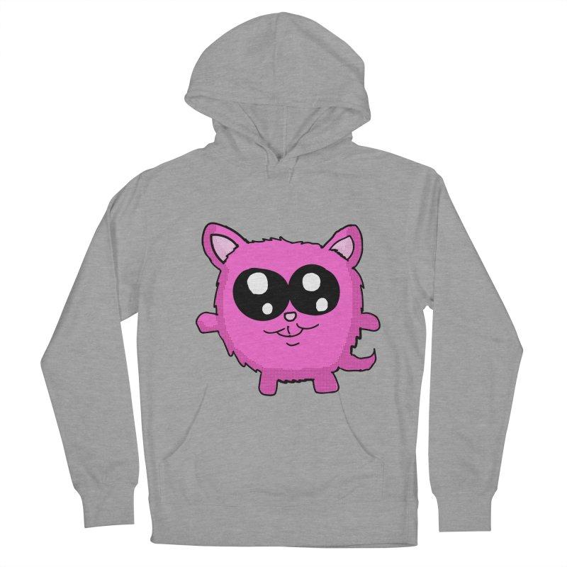 Kawaii Pink Kitty Men's Pullover Hoody by ericallen's Artist Shop