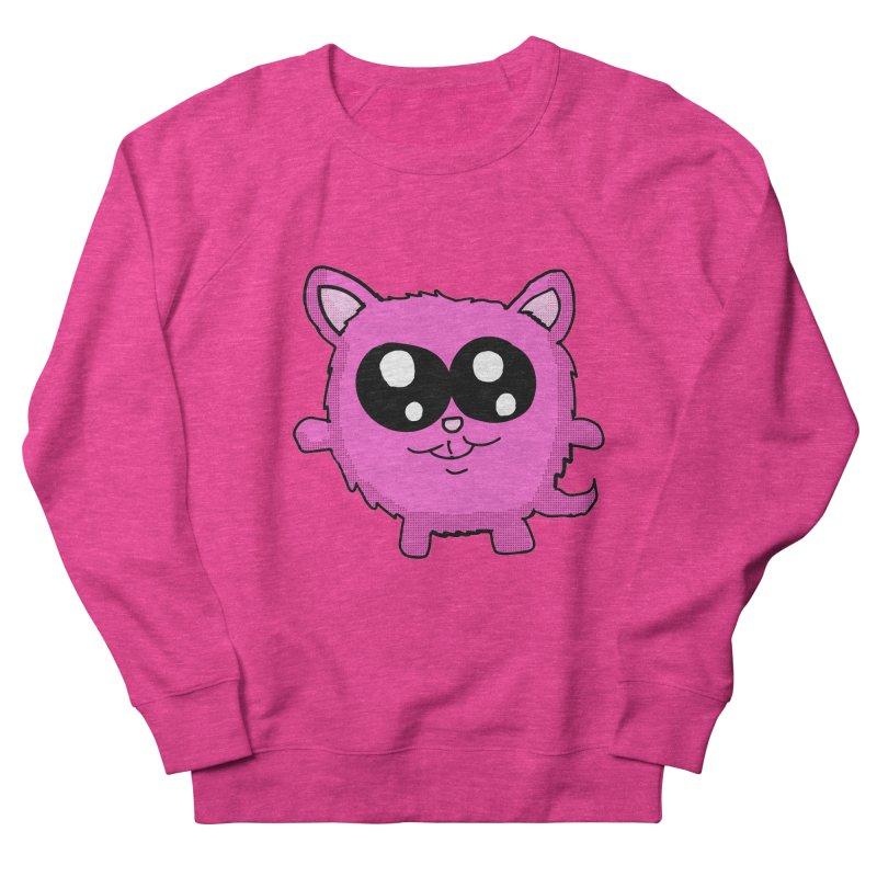 Kawaii Pink Kitty Women's Sweatshirt by ericallen's Artist Shop