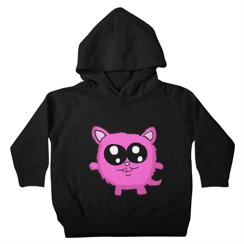 Kawaii Pink Kitty Kids Toddler Pullover Hoody by ericallen's Artist Shop