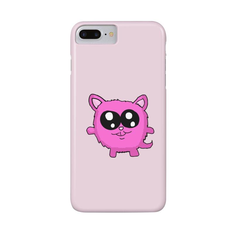 Kawaii Pink Kitty Accessories Phone Case by ericallen's Artist Shop
