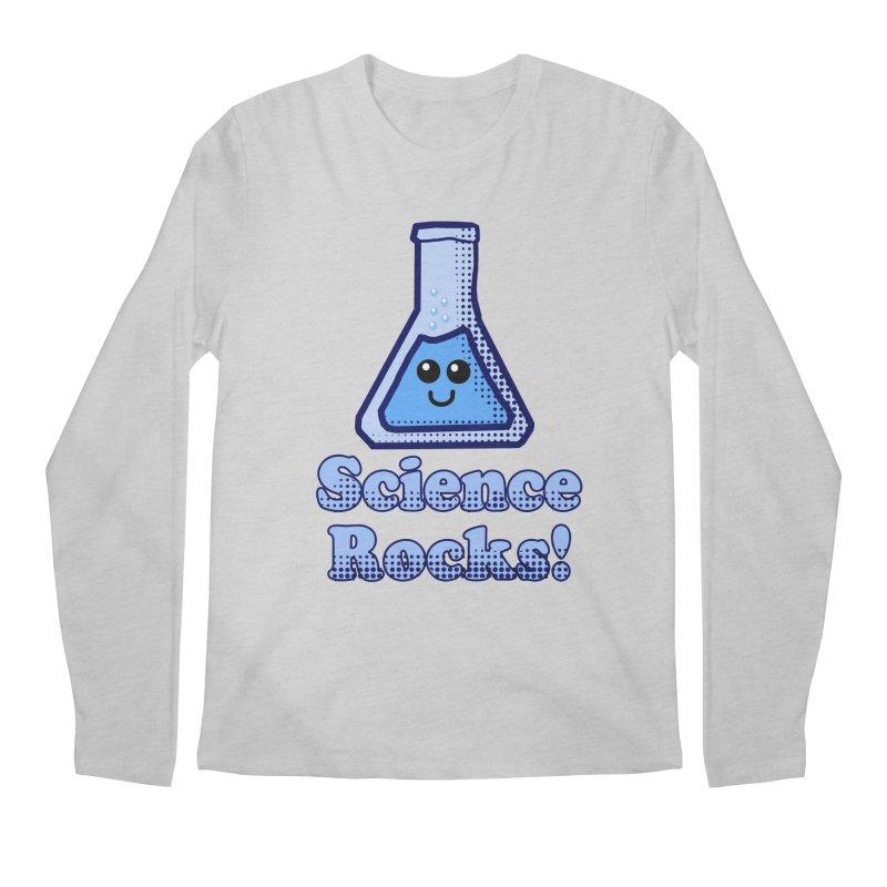 Science Rocks Men's Longsleeve T-Shirt by ericallen's Artist Shop
