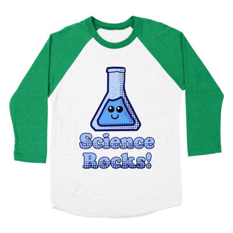Science Rocks Women's Baseball Triblend T-Shirt by ericallen's Artist Shop