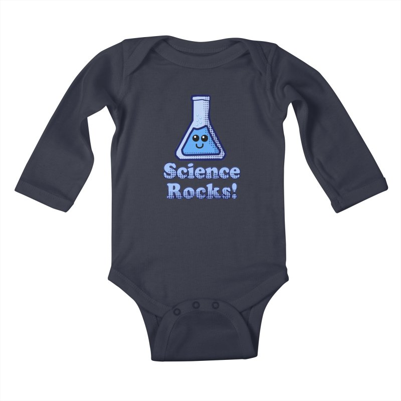 Science Rocks Kids Baby Longsleeve Bodysuit by ericallen's Artist Shop