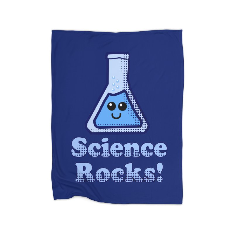 Science Rocks Home Blanket by ericallen's Artist Shop