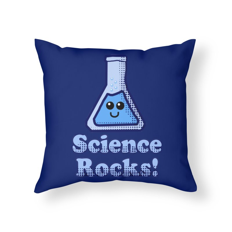Science Rocks Home Throw Pillow by ericallen's Artist Shop