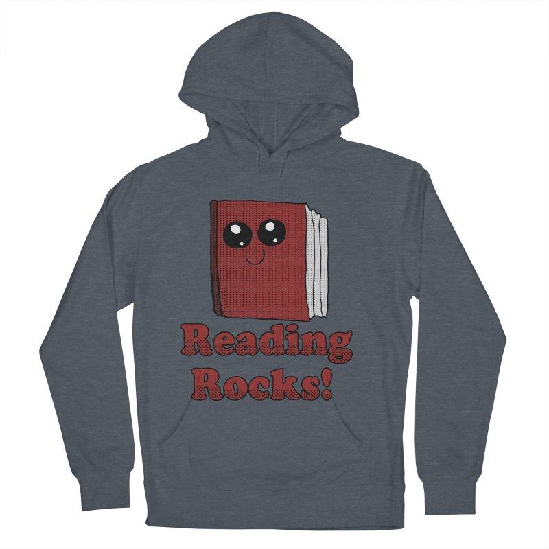 Reading Rocks! Men's Pullover Hoody by ericallen's Artist Shop
