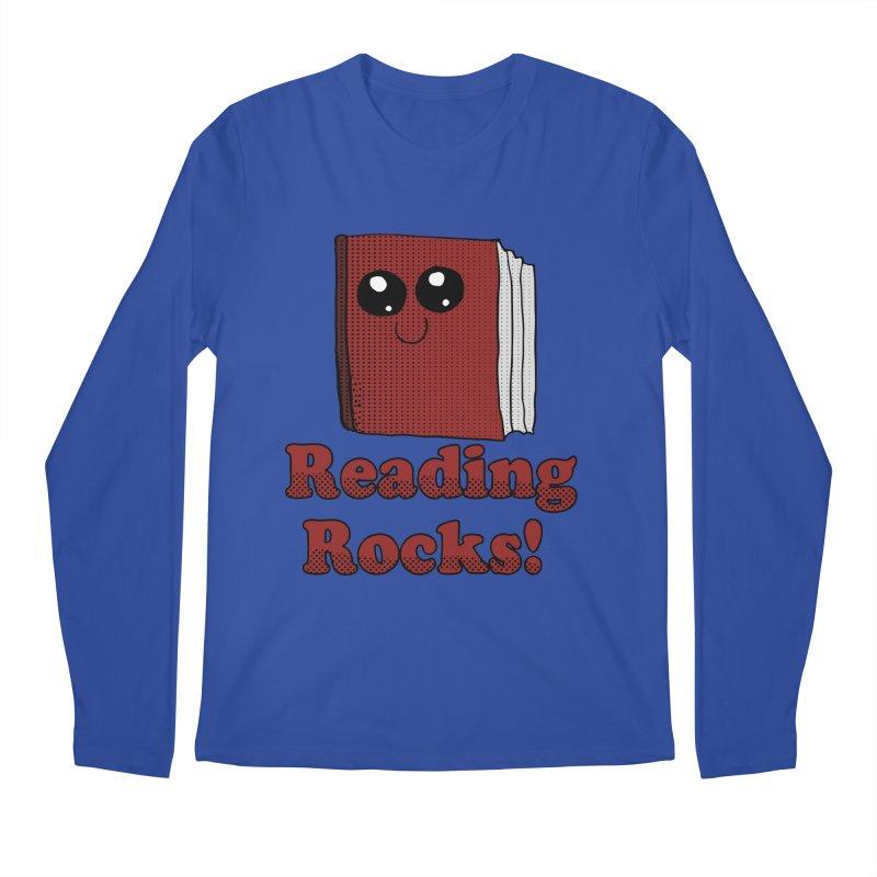 Reading Rocks! Men's Longsleeve T-Shirt by ericallen's Artist Shop