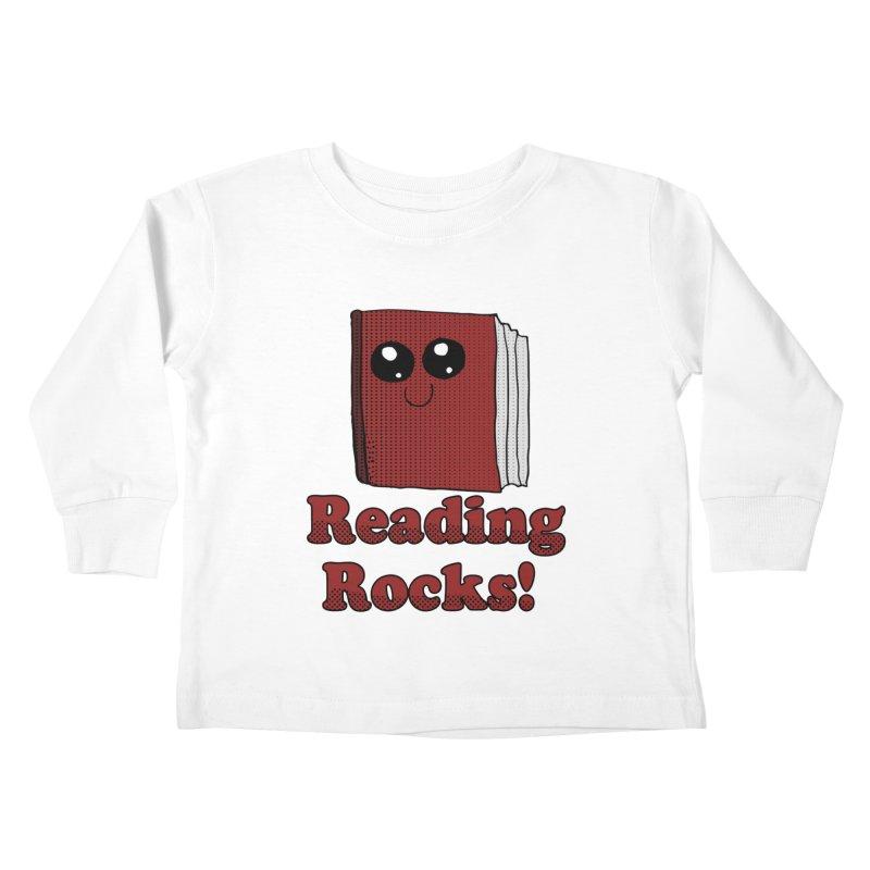 Reading Rocks! Kids Toddler Longsleeve T-Shirt by ericallen's Artist Shop