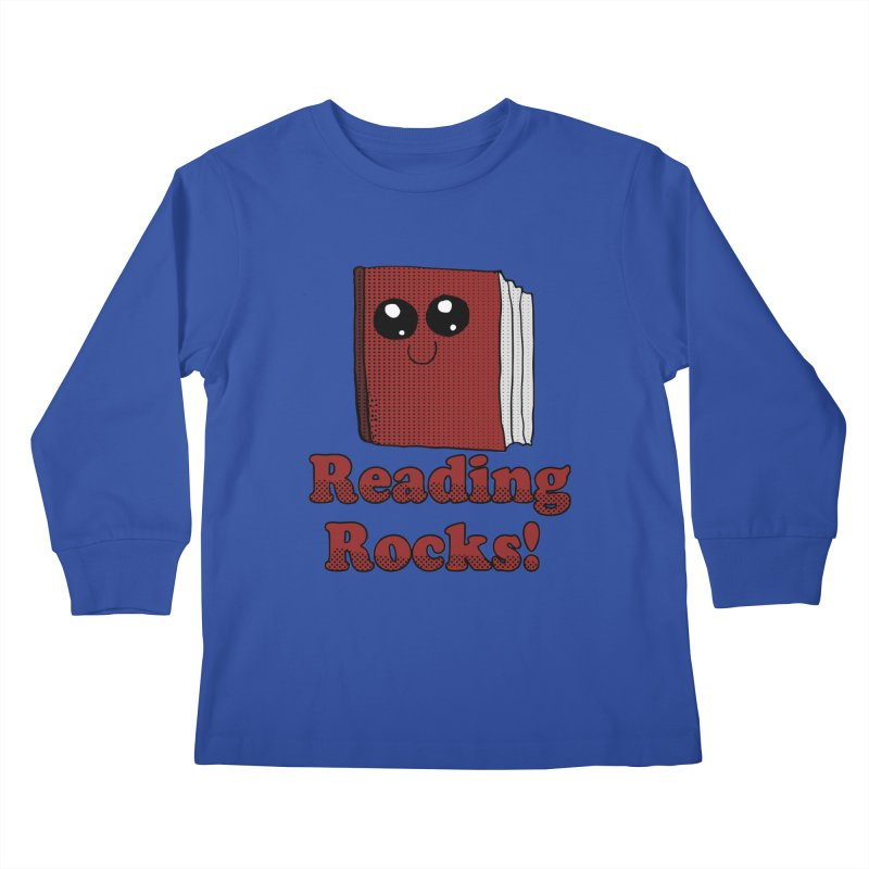 Reading Rocks! Kids Longsleeve T-Shirt by ericallen's Artist Shop
