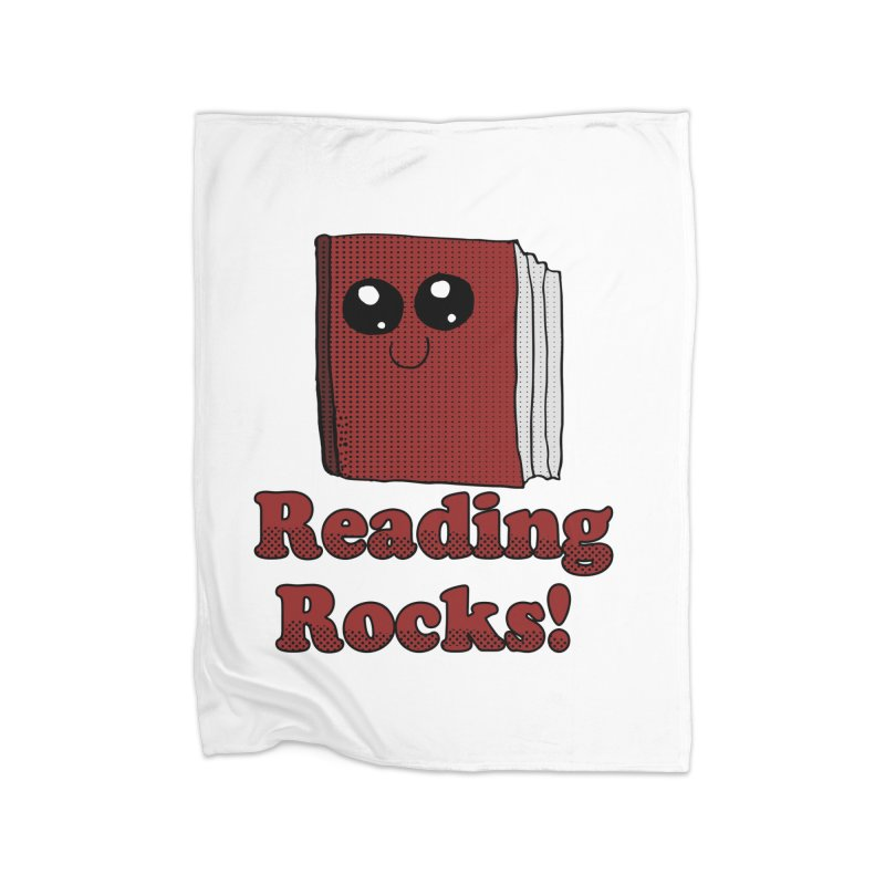 Reading Rocks! Home Blanket by ericallen's Artist Shop