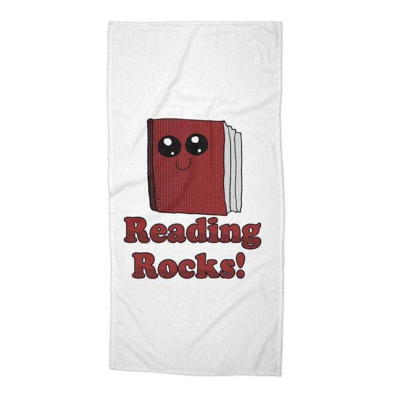 Reading Rocks! Accessories Beach Towel by ericallen's Artist Shop