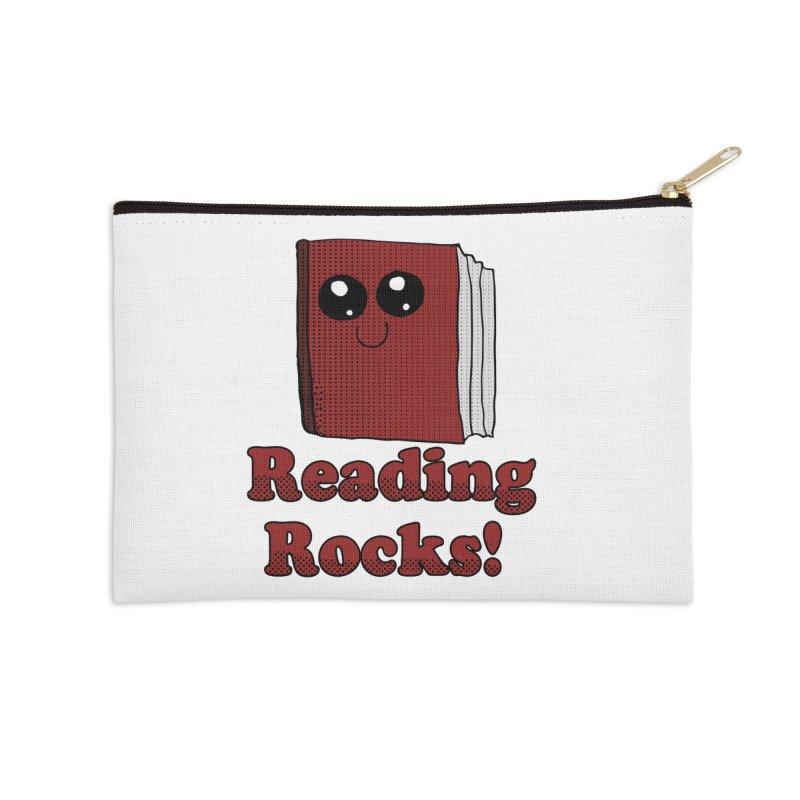 Reading Rocks! Accessories Zip Pouch by ericallen's Artist Shop
