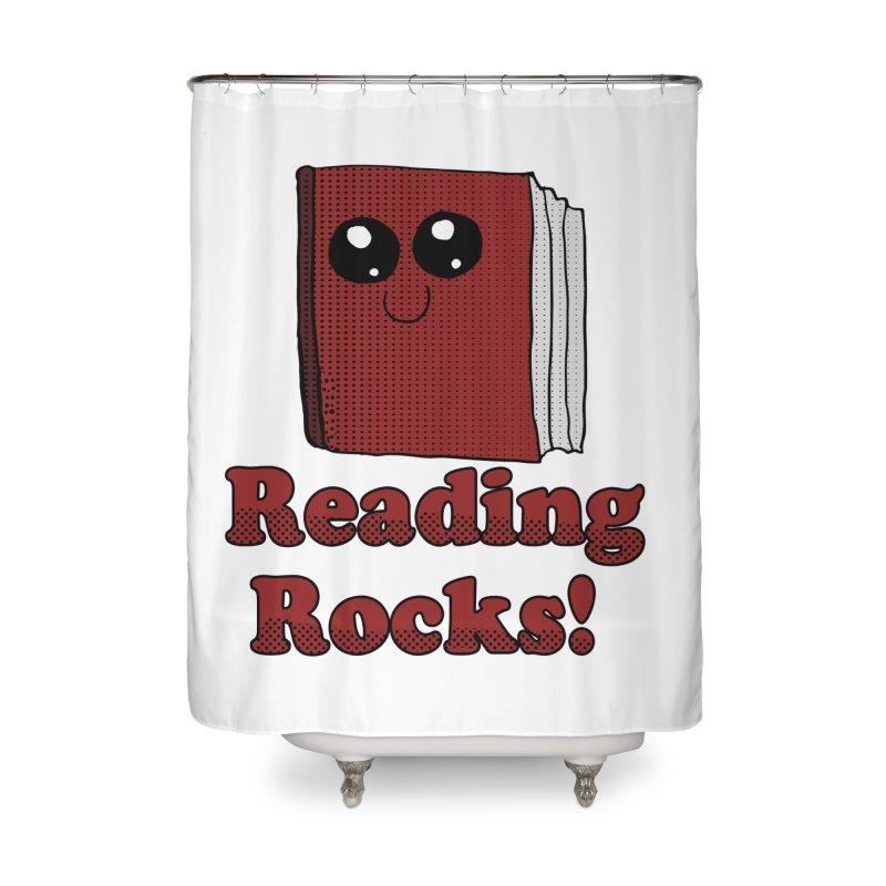 Reading Rocks! Home Shower Curtain by ericallen's Artist Shop