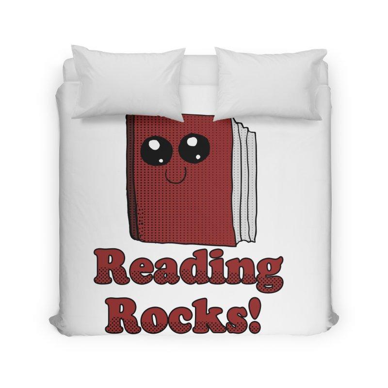 Reading Rocks! Home Duvet by ericallen's Artist Shop