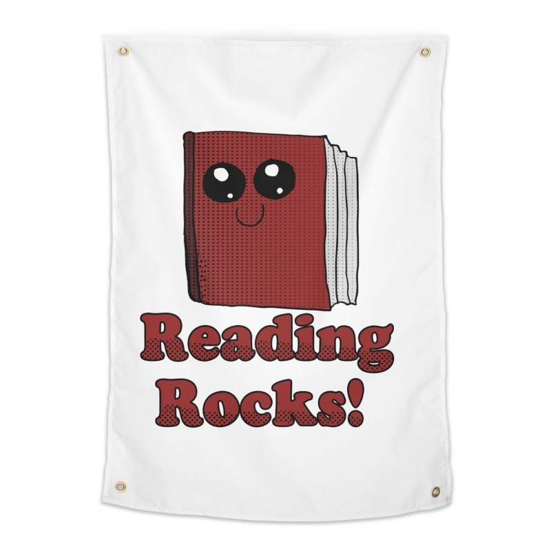 Reading Rocks! Home Tapestry by ericallen's Artist Shop