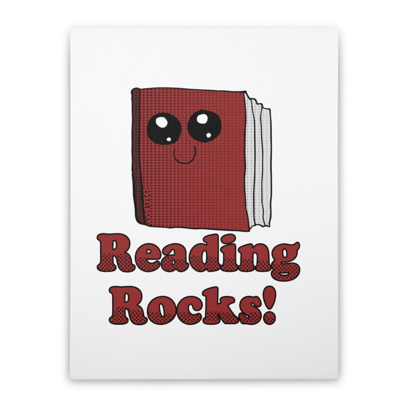 Reading Rocks! Home Stretched Canvas by ericallen's Artist Shop