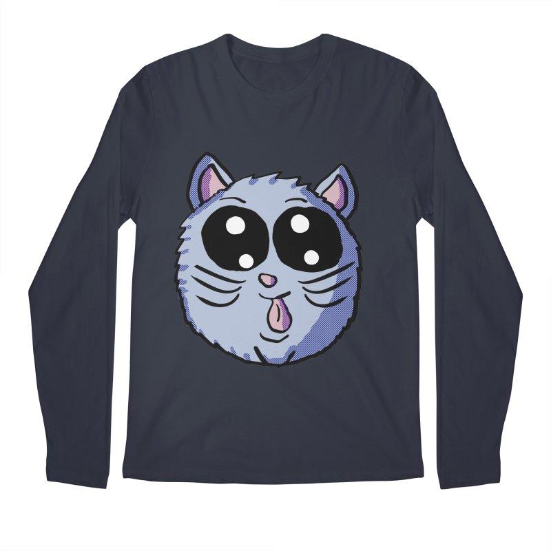Silly Kitty Men's Longsleeve T-Shirt by ericallen's Artist Shop