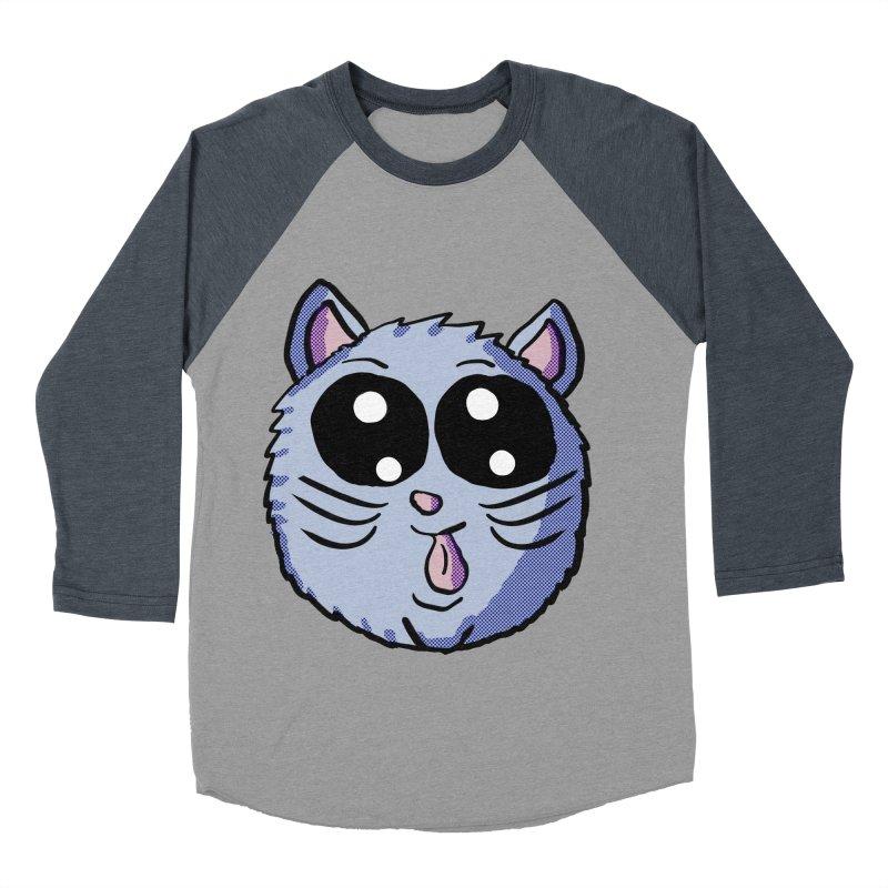 Silly Kitty Women's Baseball Triblend T-Shirt by ericallen's Artist Shop