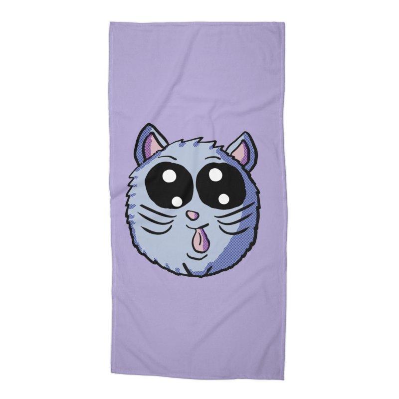 Silly Kitty Accessories Beach Towel by ericallen's Artist Shop