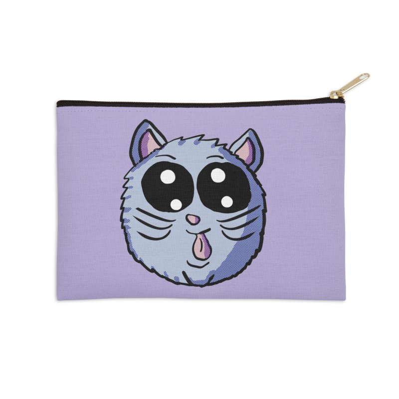Silly Kitty Accessories Zip Pouch by ericallen's Artist Shop