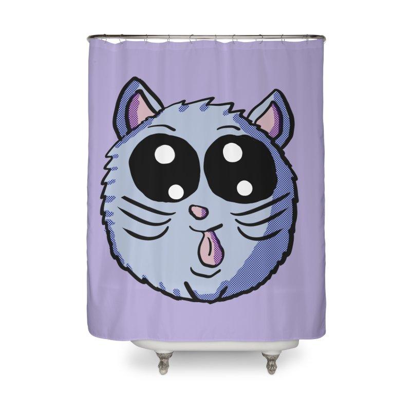 Silly Kitty Home Shower Curtain by ericallen's Artist Shop