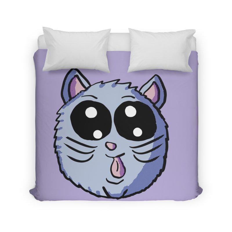 Silly Kitty Home Duvet by ericallen's Artist Shop