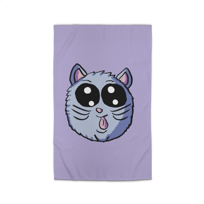 Silly Kitty Home Rug by ericallen's Artist Shop