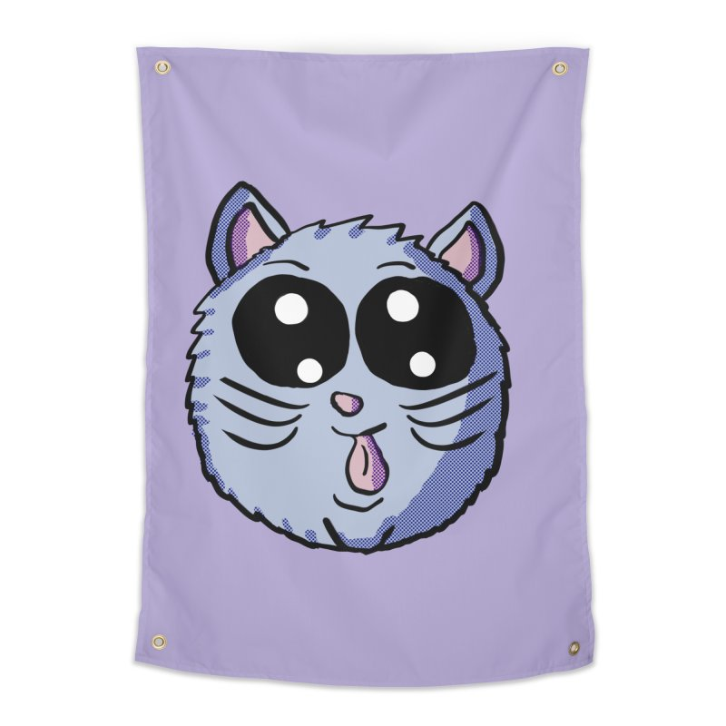 Silly Kitty Home Tapestry by ericallen's Artist Shop