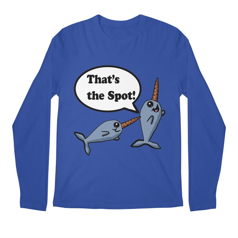 Narwhal Friends Men's Longsleeve T-Shirt by ericallen's Artist Shop