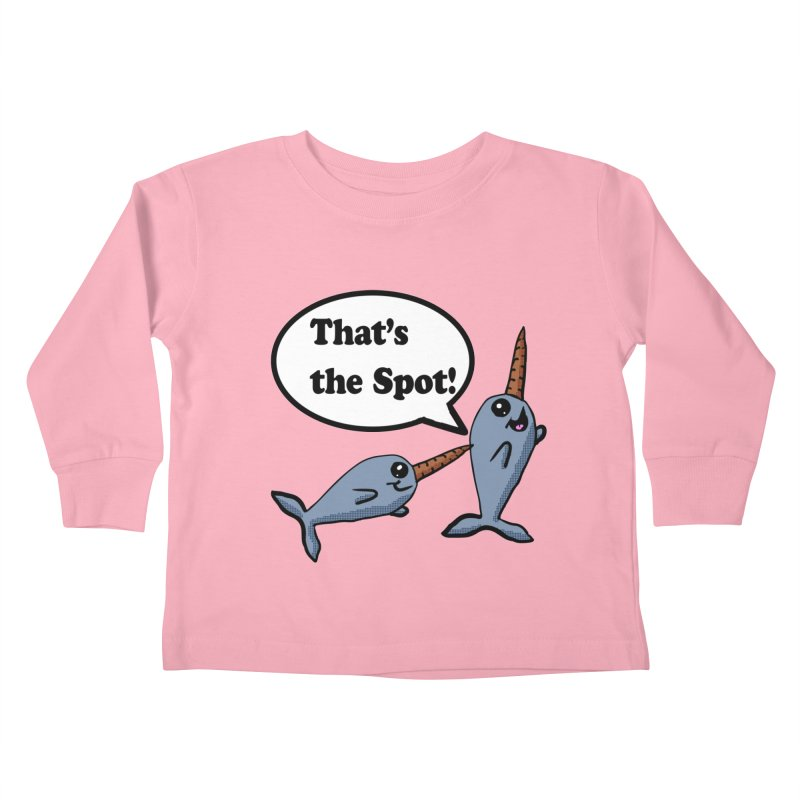 Narwhal Friends Kids Toddler Longsleeve T-Shirt by ericallen's Artist Shop